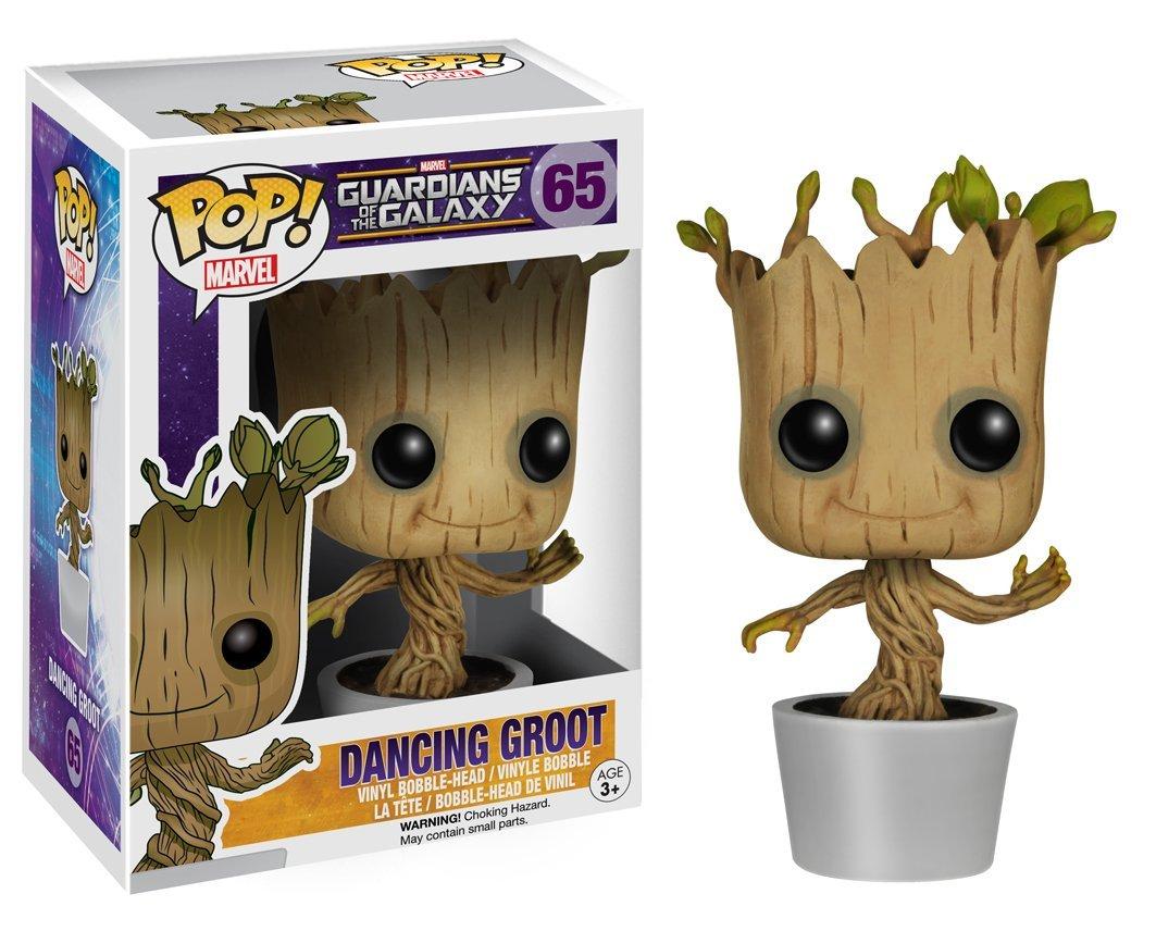 Funko - POP! Vinilo Colección Guardianes de la Galaxia - Figura Groot bailarín imagen