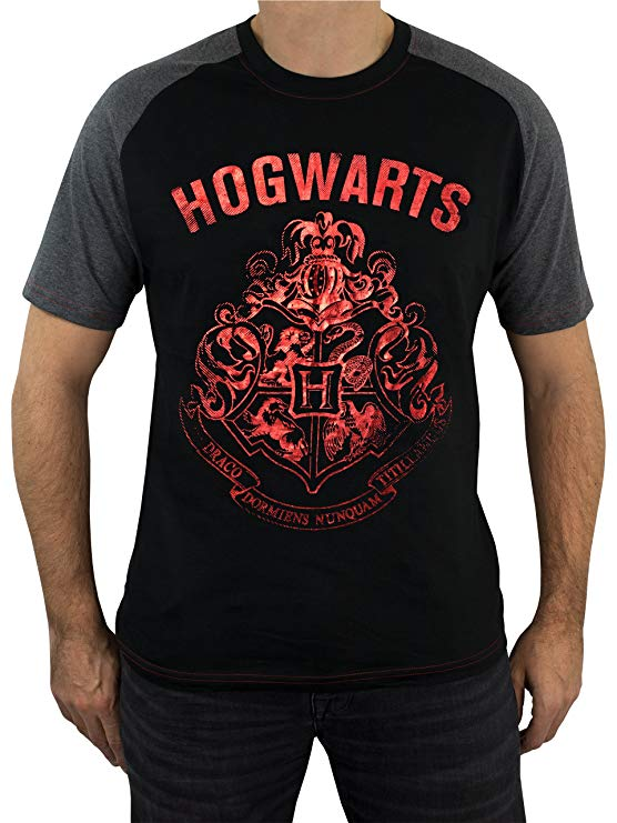 Harry Potter - Camiseta para Hombre - Hogwarts imagen