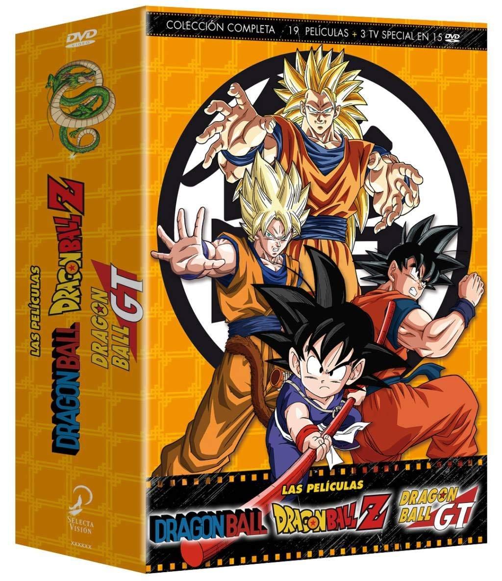 Dragon Ball Z Las Películas Colección Completa [DVD] imagen