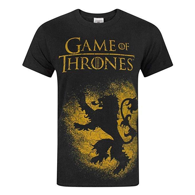 Game Of Thrones House Lannister Men's T-Shirt imagen