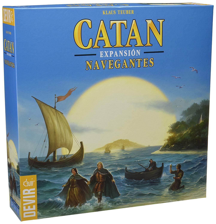Catan Devir, expansión Navegantes imagen
