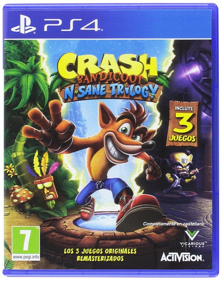 Crash Bandicoot N.Sane Trilogy PS4 imagen