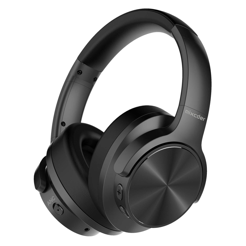 Mixcder E9 Auriculares inalámbricos con Cancelación de Ruido Activa, Bluetooth y Micrófono imagen