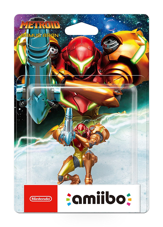 Nintendo - Figura Amiibo Samus Aran, colección Metroid imagen