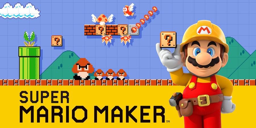 Mario Maker imagen