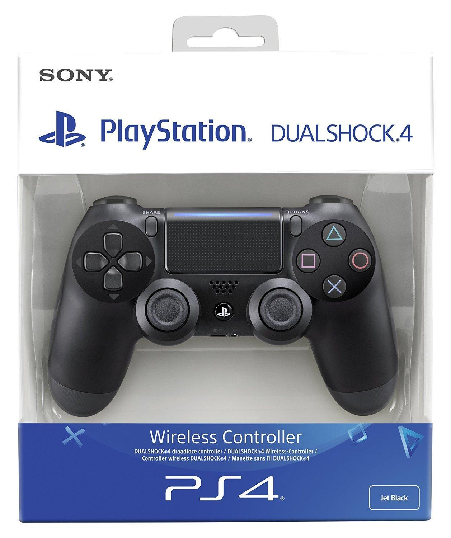 Sony - Dualshock 4 V2 Mando Inalámbrico, Color Negro V2 (PS4) imagen