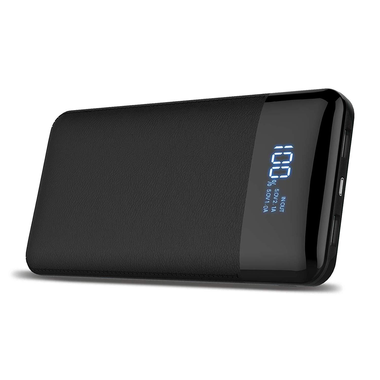 Batería extraíble portátil,Power Bank de 24000mAh con pantalla digital imagen