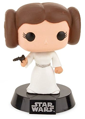 FunKo POP! Bobble - Star Wars: Princess Leia imagen