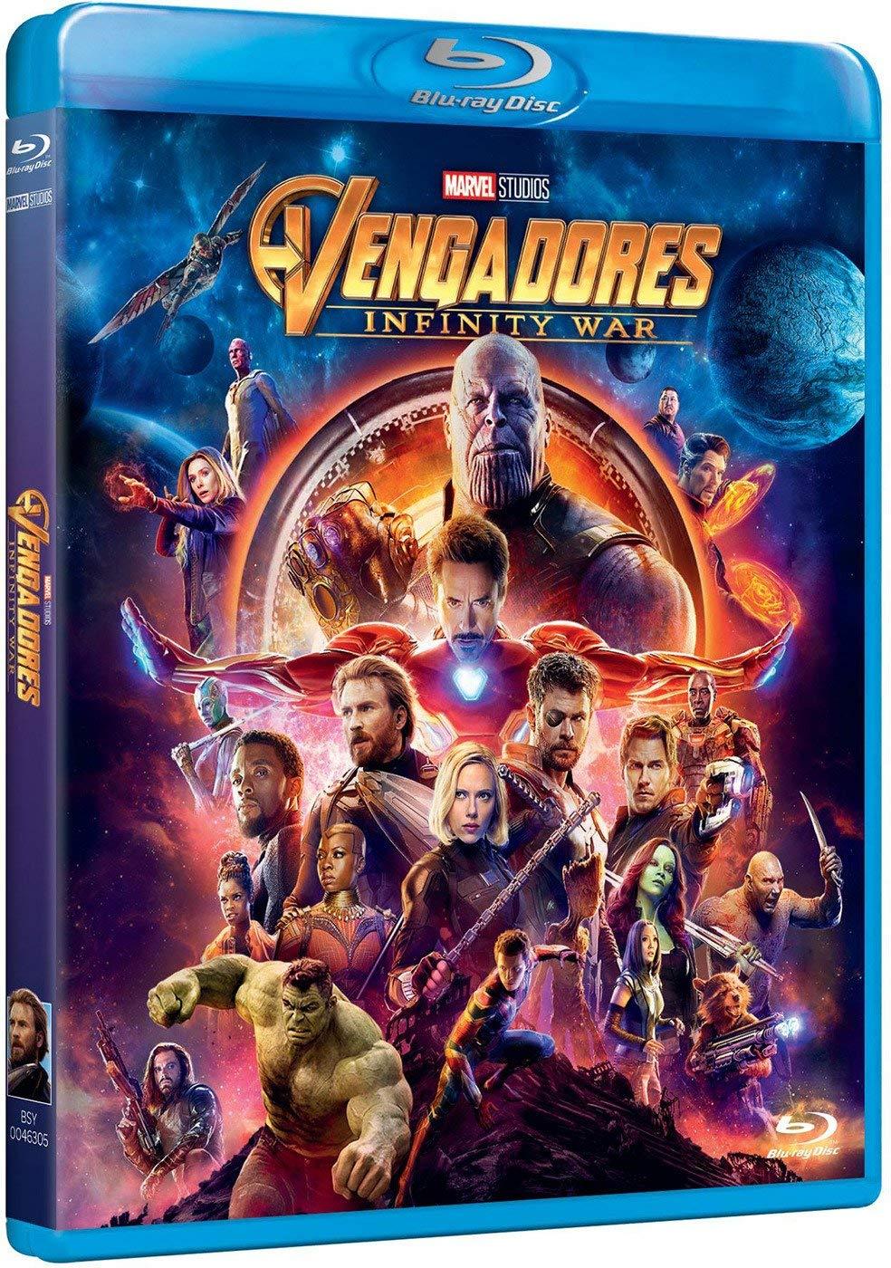 Vengadores Infinity War [Blu-ray] imagen