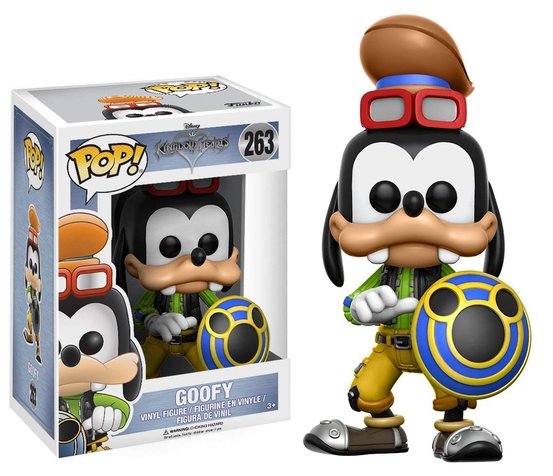 Funko POP! Vinilo - Kingdom Hearts: Goofy imagen