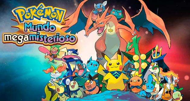 Pokémon Mundo Megamisterioso imagen