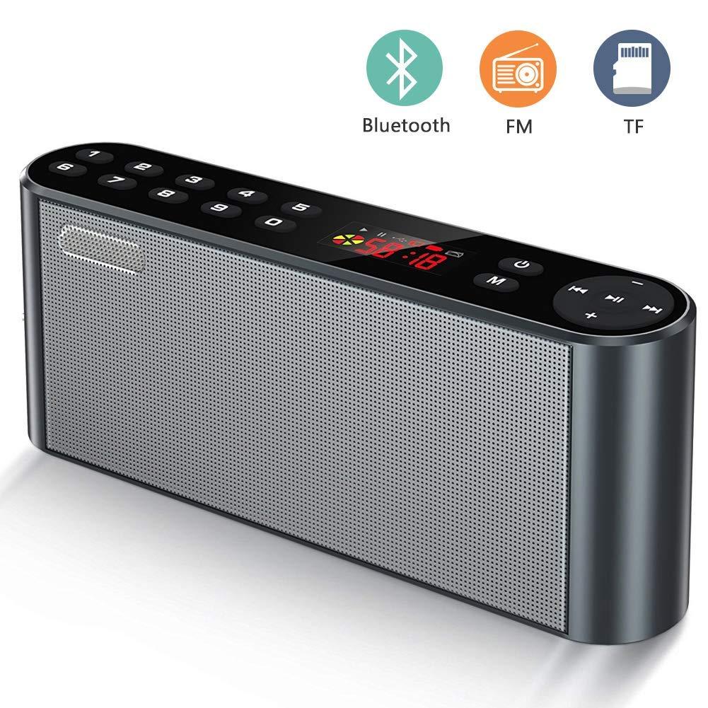 ieleacc Altavoz Estéreo Inalámbrico Bluetooth 4.2, con HD Audio y Manos Libres imagen