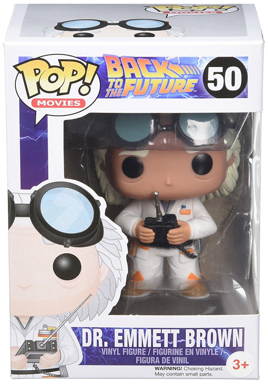FunKo POP! Vinilo - BTTF: Doc Brown imagen