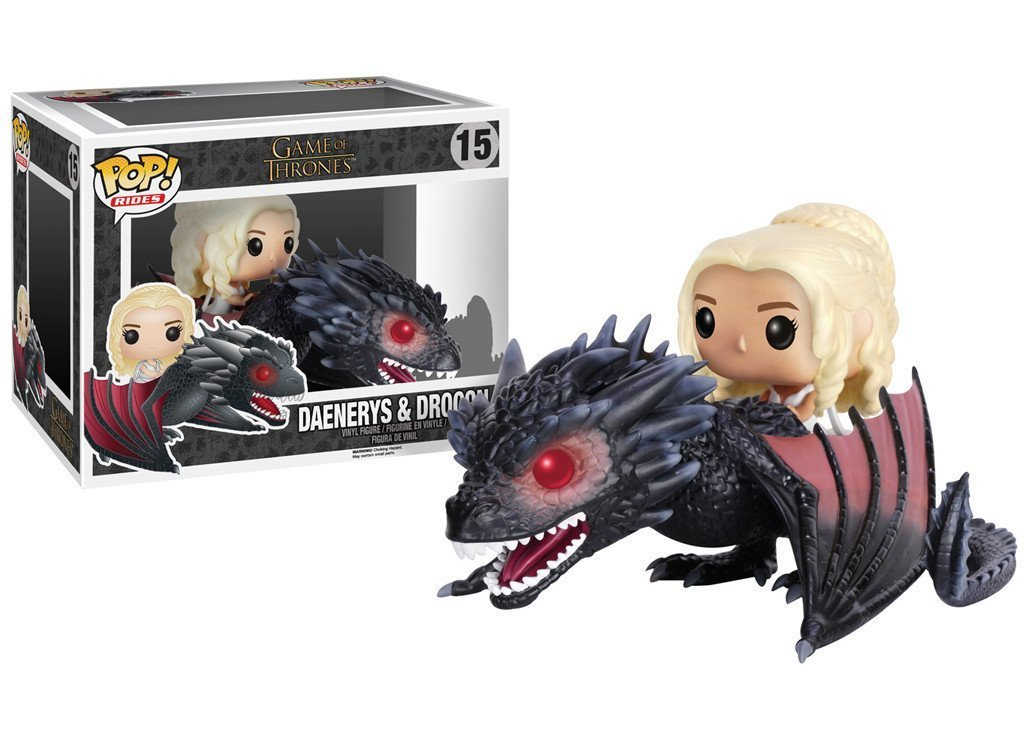 FunKo POP! Drogon & Daenerys imagen