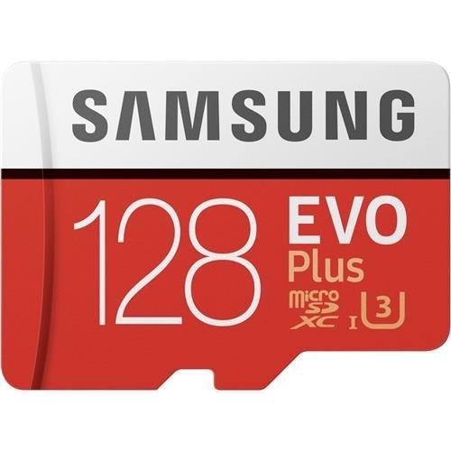 Samsung EVO Plus - Tarjeta de memoria microSD de 128 GB imagen