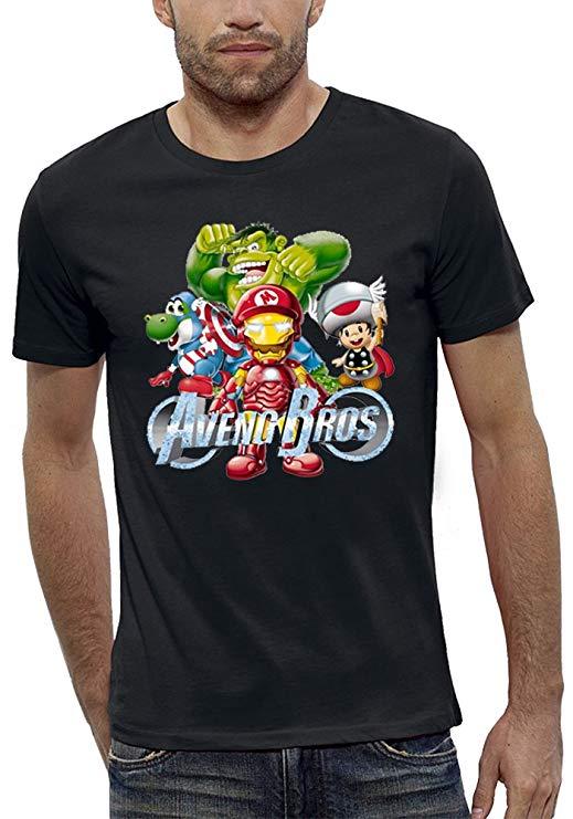 PIXEL EVOLUTION Camiseta Avengers Bros imagen