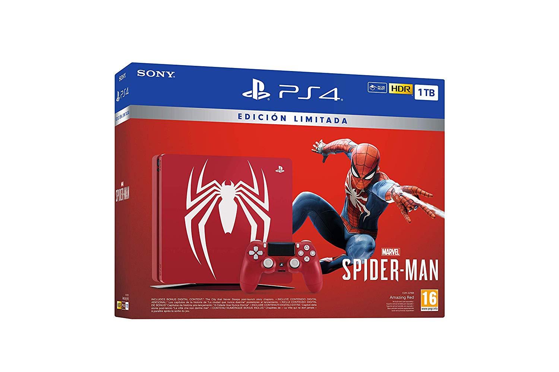 PlayStation 4 - Consola de 1 TB - Edición Especial + Marvel's Spider-Man imagen