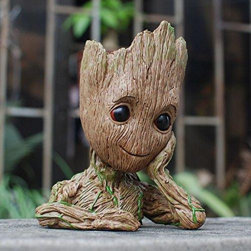 Maceta/Lapicero en forma de Groot imagen