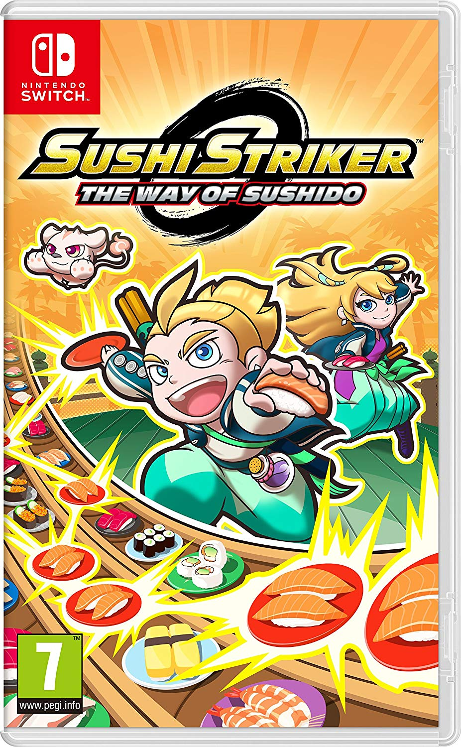 Sushi Striker: The Way Of Sushido imagen