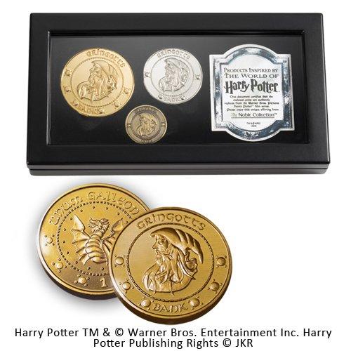 Noble Collection ndash; Harry Potter, juego de monedas de colección de Gringot imagen