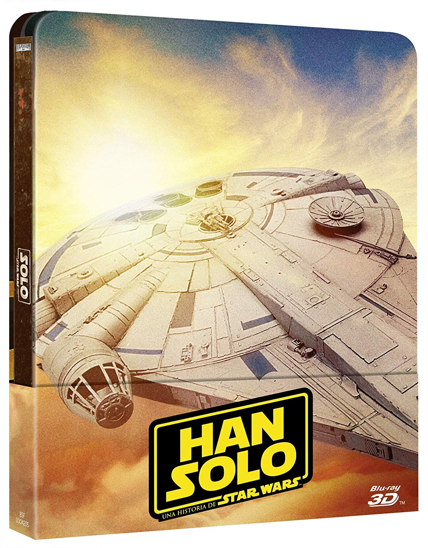 STEELBOOK Han Solo Una Historia de Star Wars [Blu-ray] imagen