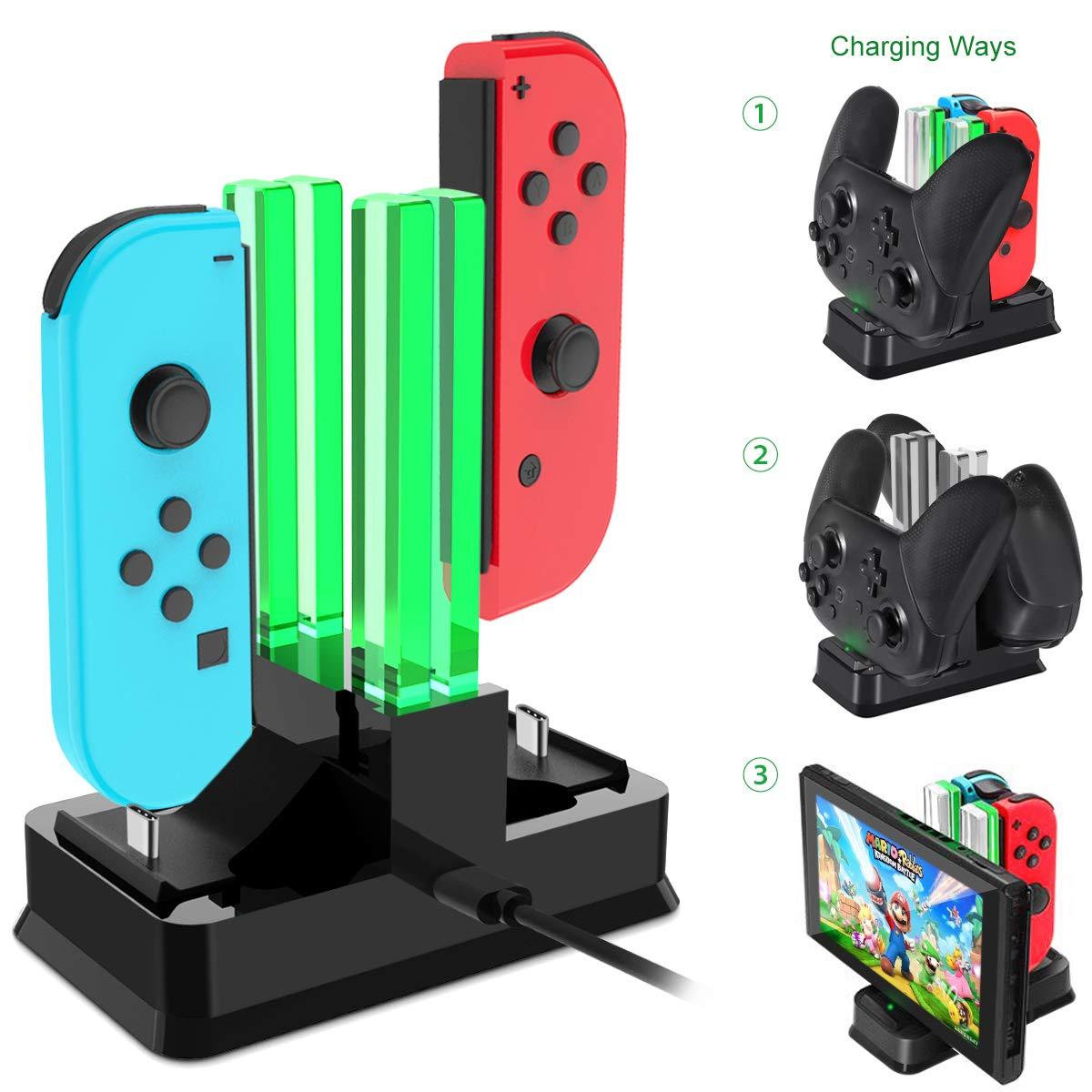 Base de Carga Cargador para Nintendo Switch Onedream imagen