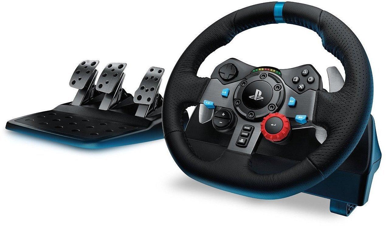 Logitech G29 - Volante con pedales incluidos (PS4/PS3/PC) imagen