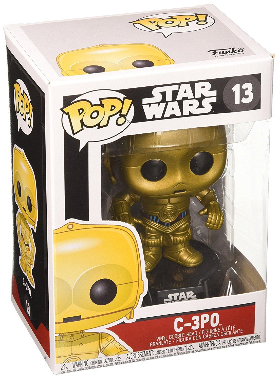 FunKo POP! Bobble - Star Wars: C-3PO imagen
