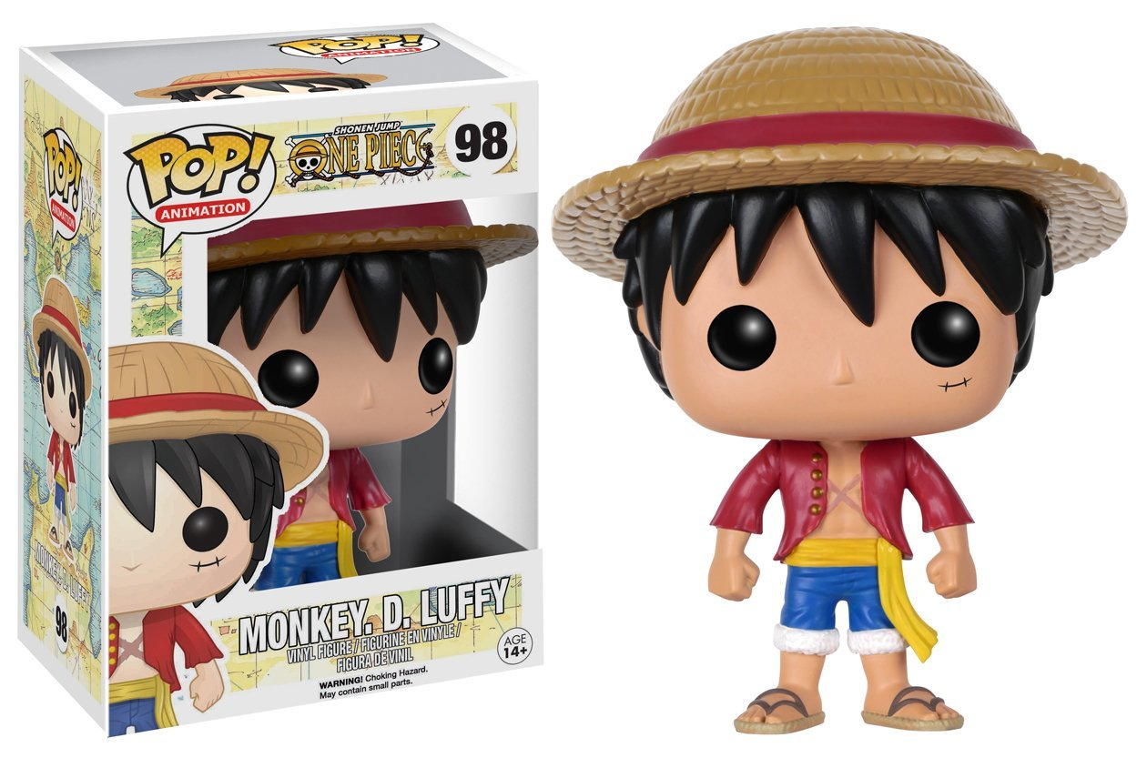 FunKo POP! Vinilo - One Piece: Monkey D. Luffy imagen
