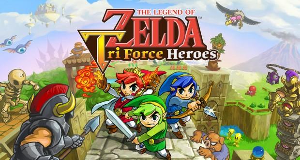 The Legend Of Zelda Tri Force Heroes imagen