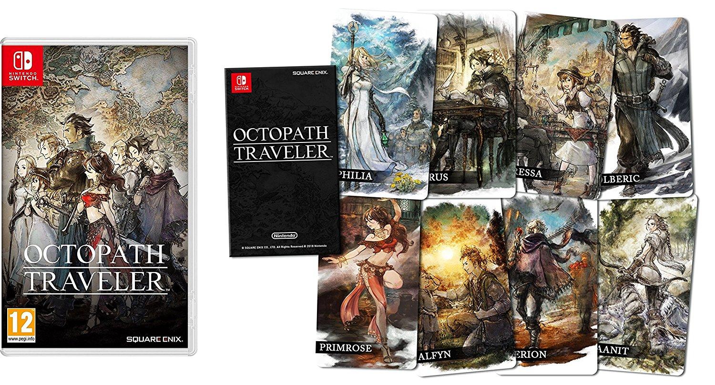 Octopath Traveler - Edición estándar + Cartas coleccionables imagen