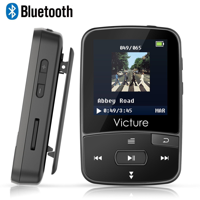 Victure Reproductor MP3 Bluetooth 4.0 con Clip imagen
