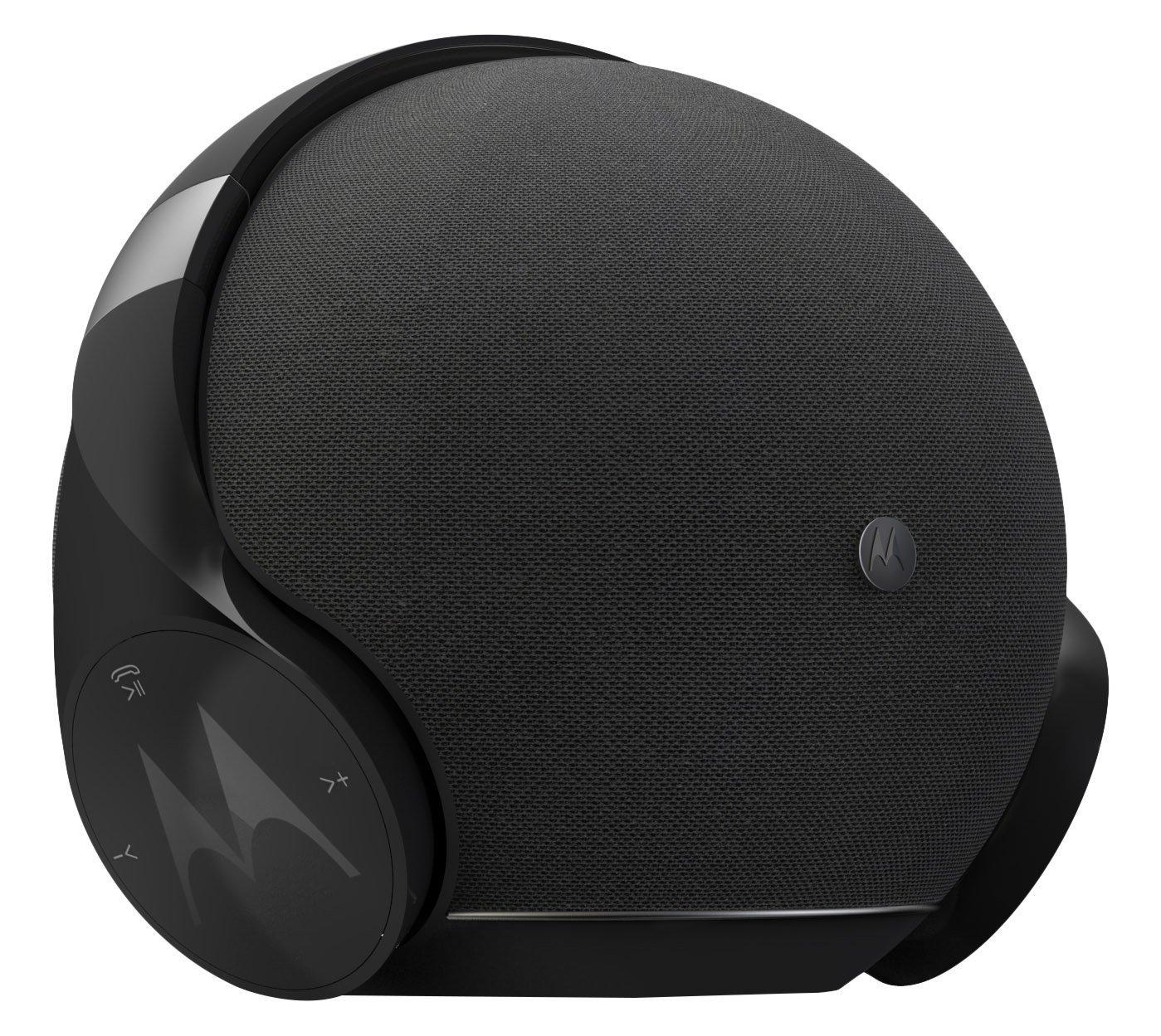 Motorola Sphere+ - 2 en 1: Altavoz Estéreo Bluetooth y Juego de Auriculares - Cascos y Equipo de Manos Libres - Nero imagen