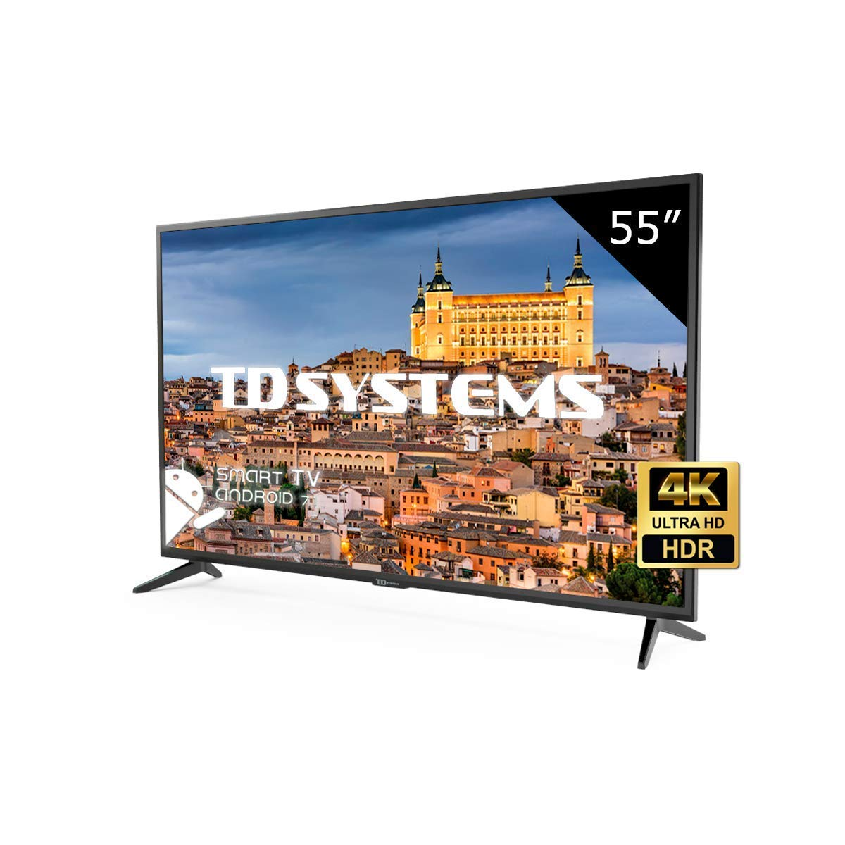 Televisor Led 55 Pulgadas Ultra HD 4K Smart TD Systems K55DLG8US imagen