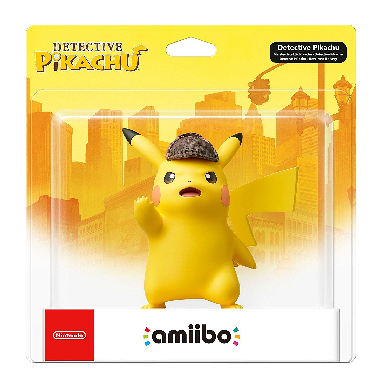 Figura Amiibo Detective Pikachu imagen