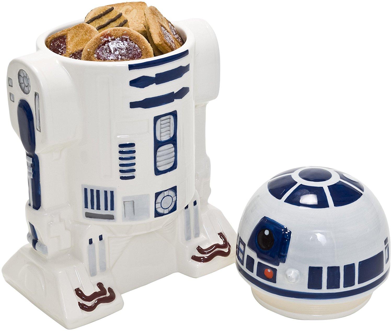 Star Wars - Tarro de galletas de cerámica R2-D2 con tapa imagen