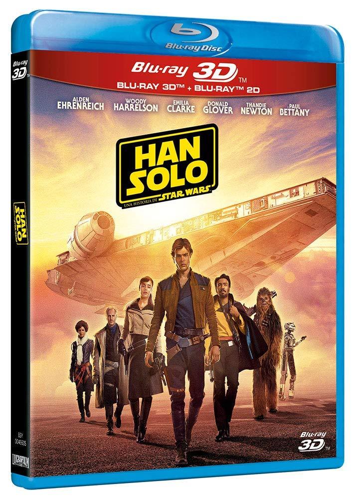 Han Solo Una Historia de Star Wars (Standard BD 3D+2D) [Blu-ray] imagen