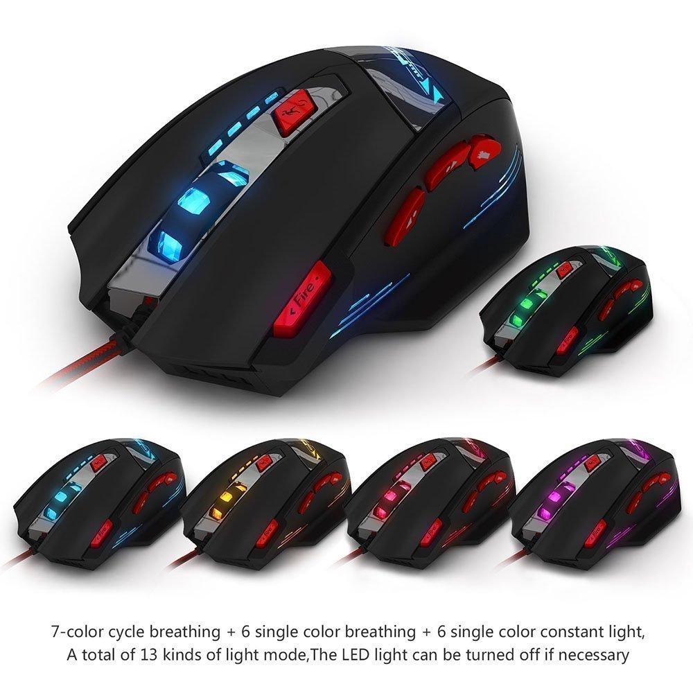 Ratón Gaming Zelotes 9200 DPI imagen
