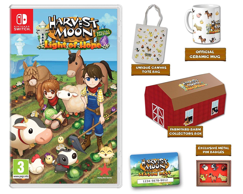 Harvest Moon: La luz de la esperanza Edición Coleccionista Nintendo Switch imagen