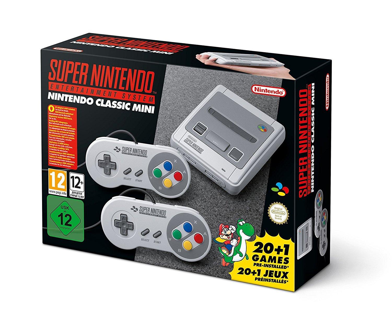 SUPER NES Classic Mini imagen
