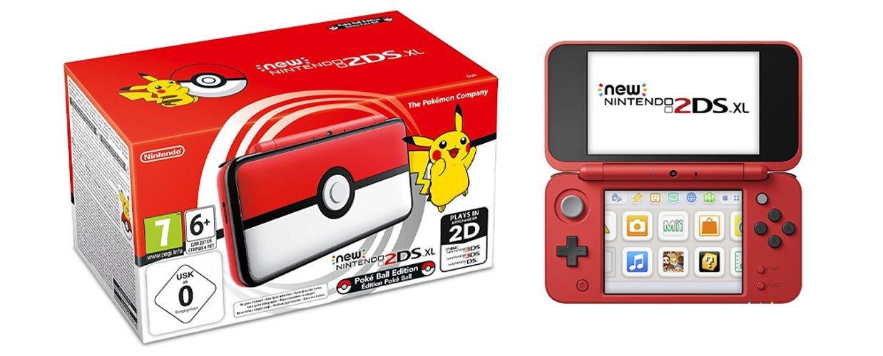 Nintendo New 2DS XL - Edición Pokéball imagen