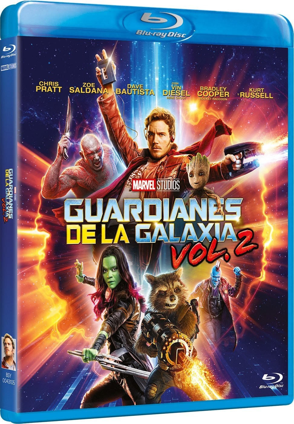 Guardianes De La Galaxia 2 [Blu-ray] imagen