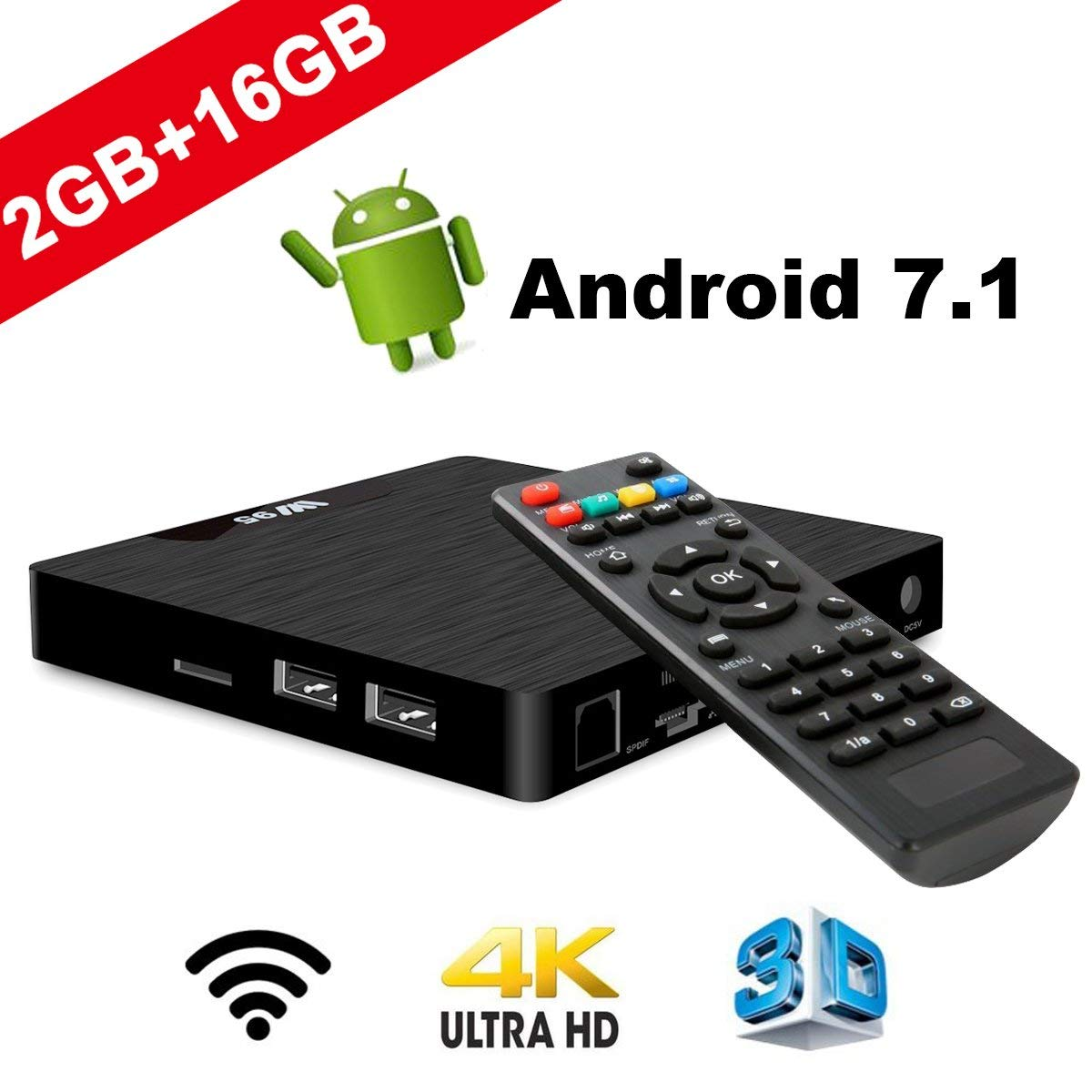 TV Box Android 7.1 imagen