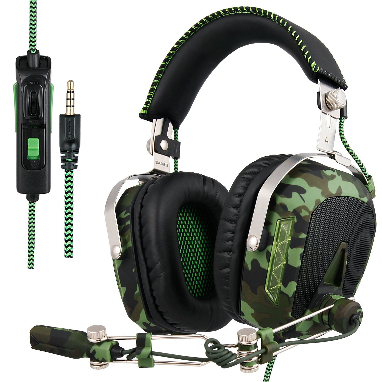 Gaming Headset SA926T (Ejército Verde) imagen