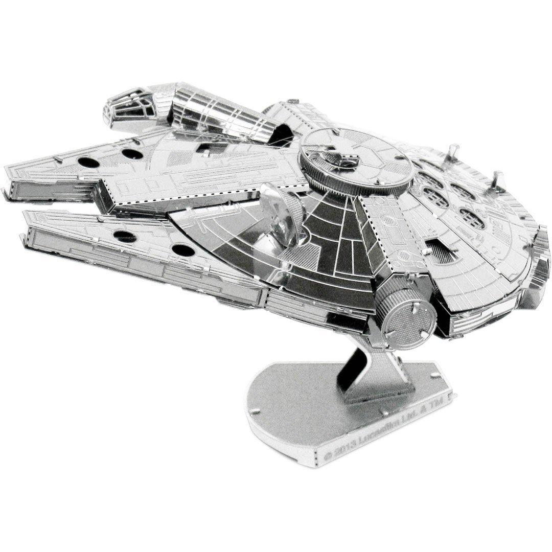 Star Wars Maqueta de metal 3D Halcón Milenario imagen