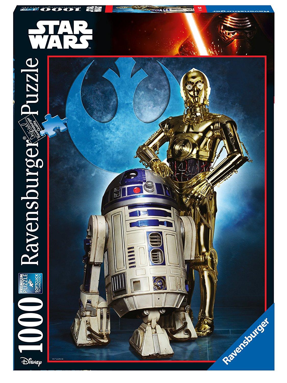 Star Wars Puzzle Droides (1000 piezas) imagen