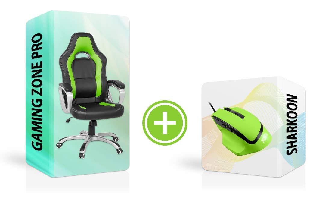 Ratón Force Gaming + silla Racing  imagen