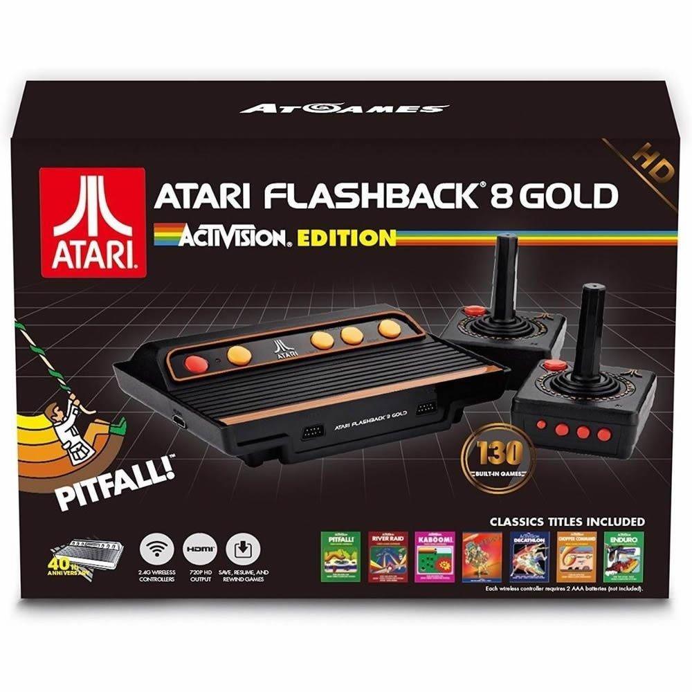 Consola Atari Flashback 8 HD, Edición Activision (130 Juegos) imagen
