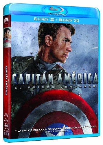 Capitán América: El Primer Vengador (Blu-ray 3D+2D) [Blu-ray] imagen