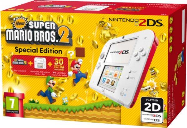 Nintendo 2DS + New Super Mario Bros 2  imagen